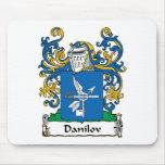 Danilov Family Crest Mouse Pad