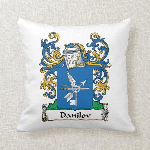 Danilov Family Crest Pillow