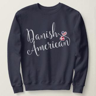 Danish American Entwinted Hearts Sweatshirts