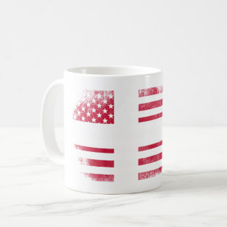 Danish American Flag   Denmark and USA Design Coffee Mug