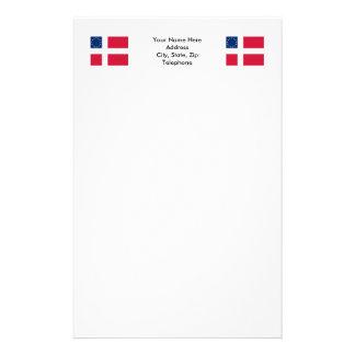 Danish-American Flag Stationery