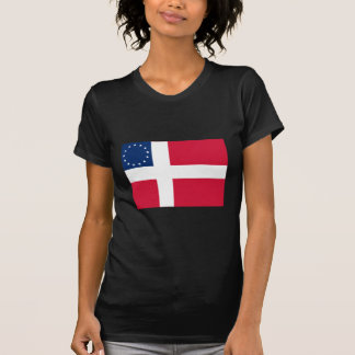 Danish-American Flag T-Shirt