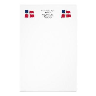 Danish-American Waving Flag Stationery