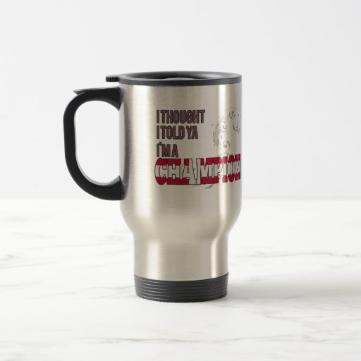 Danish and a Champion Coffee Mug