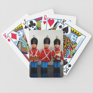 DANISH ARMY SOLDIERS RED BICYCLE PLAYING CARDS