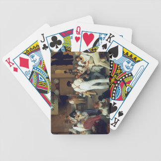 Danish artists at the Osteria la Gonsola, Rome, 18 Bicycle Playing Cards