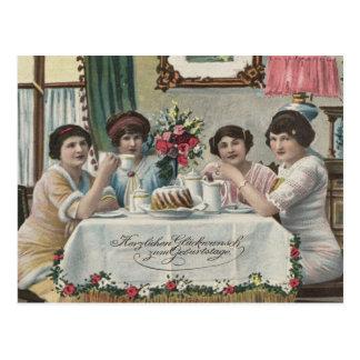 Danish Birthdays - Fodseldag Postcard