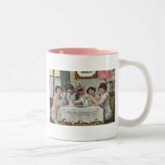 Danish Birthdays - Fodseldag Two-Tone Coffee Mug