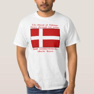 Danish Blood & Beer Viking T-Shirt