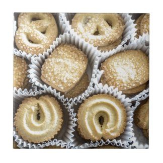 Danish Butter Cookies Ceramic Tile
