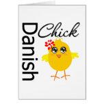 Danish Chick Greeting Cards