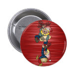 Danish Christmas Elves 2 Inch Round Button