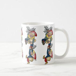 Danish Christmas Elves Coffee Mug