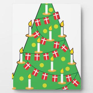 Danish Christmas Tree Plaque