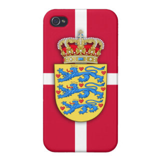 Danish Coat of Arms iPhone Case iPhone 4 Cover