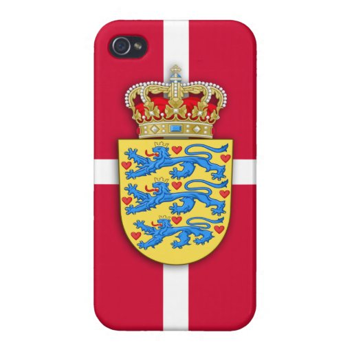 Danish Coat of Arms iPhone Case iPhone 4/4S Cases