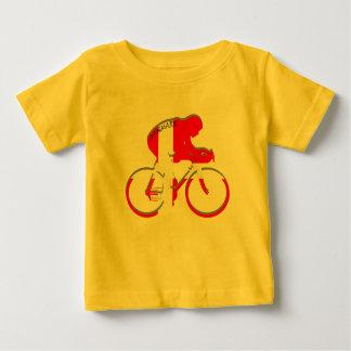 Danish cycling Denmark flag Bicycle Dane gear Baby T-Shirt