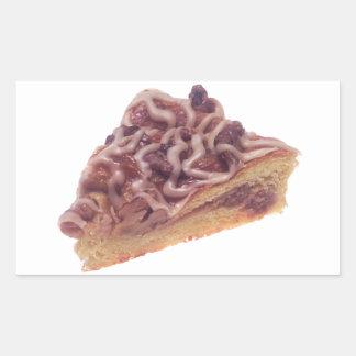 Danish Dessert Pastry Rectangle Sticker