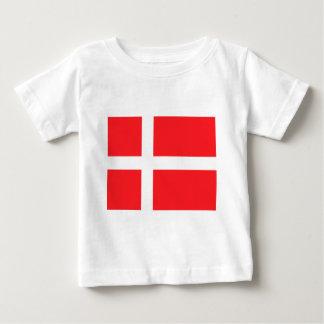 Danish Flag Baby T-Shirt