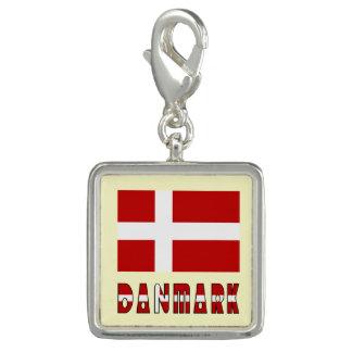 Danish Flag Danmark Dannebrog Photo Charm