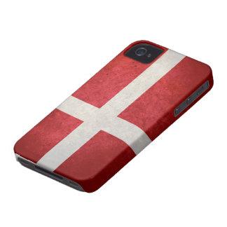Danish Flag iPhone 4 Case-Mate Case