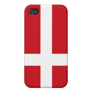 Danish Flag iPhone 4/4S Case