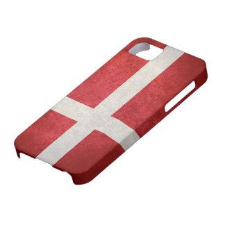 Danish Flag iPhone SE/5/5s Case