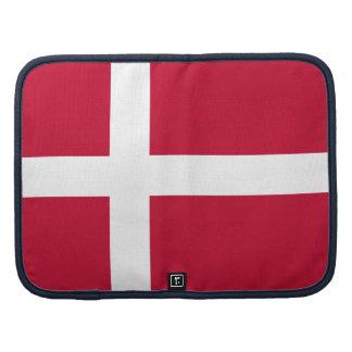 Danish flag folio planner