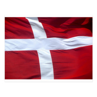 Danish Flag Postcard