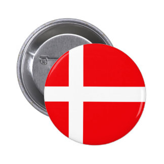 Danish Flag T-shirts and Gifts Pinback Button