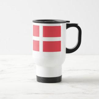 Danish Flag Travel Mug