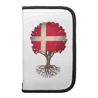 Danish Flag Tree of Life Customizable Folio Planner