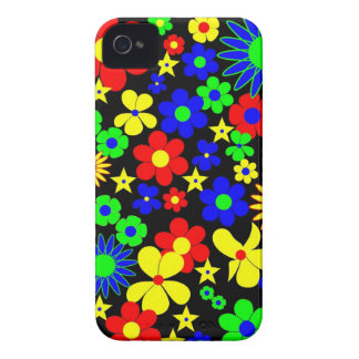 Danish Flowers - Flora Danica - Square iPhone 4 Case-Mate Case