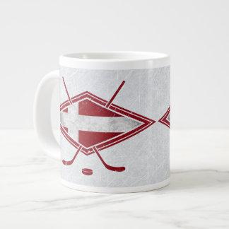 Danish Hockey Flag Logo Mug