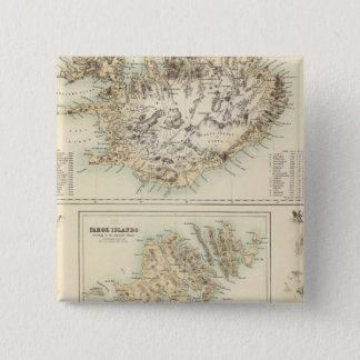 Danish Islands in the North Atlantic Ocean Pinback Button