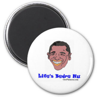 Danish Life's Better Now 2 Inch Round Magnet