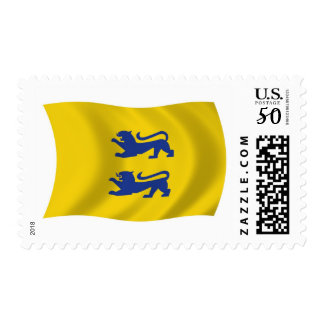 Danish Minority of Southern Schleswig Flag Stamps