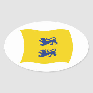 Danish Minority of Southern Schleswig Flag Sticker