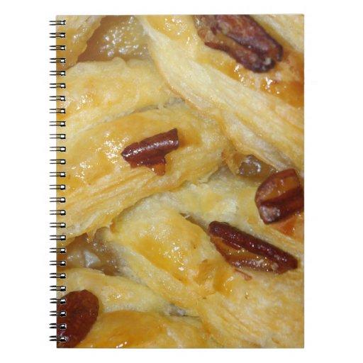 Danish pastry notebook