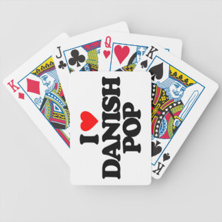 DANISH POP BICYCLE PLAYING CARDS