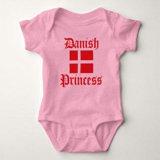 Danish Princess Baby Bodysuit