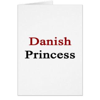 Danish Princess Note Card