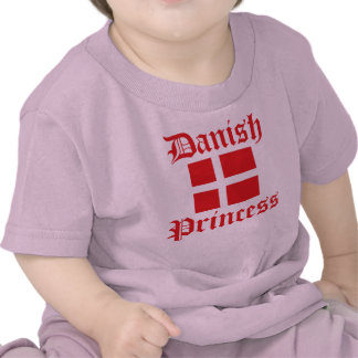 Danish Princess Tee Shirts