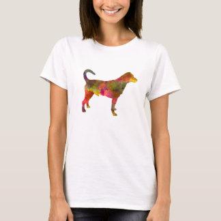 Danish swedish farmdog 01 in watercolor 2 T-Shirt
