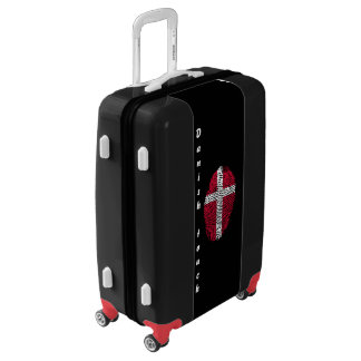 Danish touch fingerprint flag luggage
