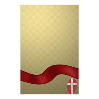 Danish touch fingerprint flag stationery