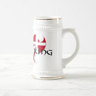 Danish Viking Denmark flag Axe Coffee Mug
