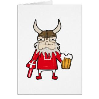 Danish Viking Fan Card