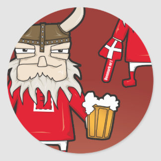 Danish Viking Fan Sticker