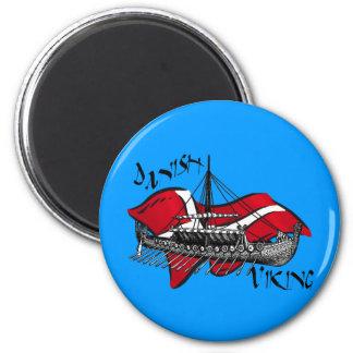 Danish Viking Ship cultural gifts of Denmark Magnet